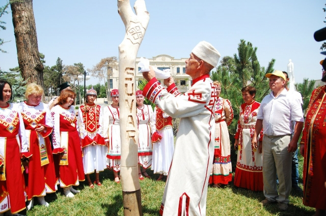 чувашский обряд