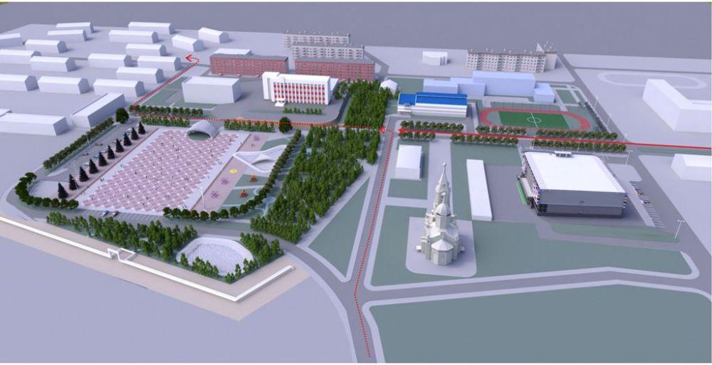 Обновлённая, а фактически созданная заново центральная площадь Карабаша – это лишь один из многих социальных объектов, которые получит город в ближайшие годы.