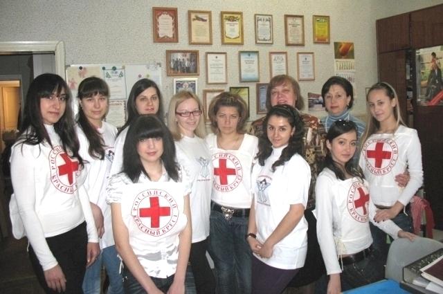 Сегодняшние студенты медколледжа РостГМУ