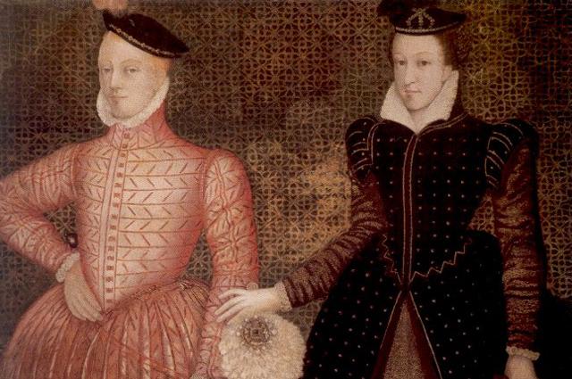 Мария Стюарт и Генрих, лорд Дарнли.