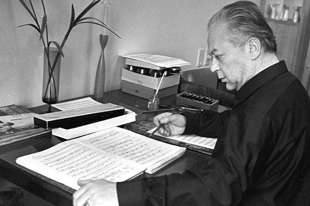 Композитор Никита Богословский, 1967 г.