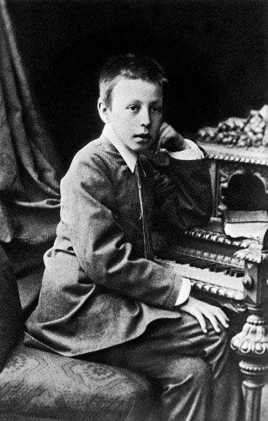 Композитор Сергей Рахманинов в детстве. 1896 год