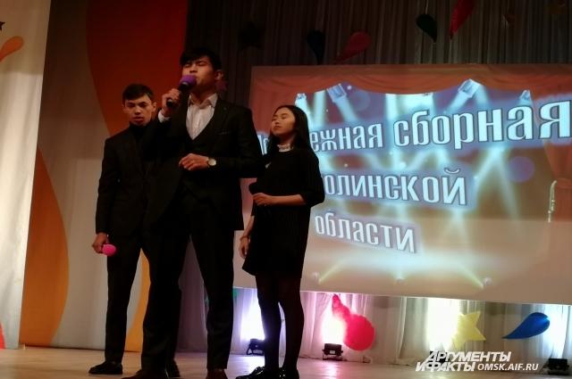 Гости из Казахстана.