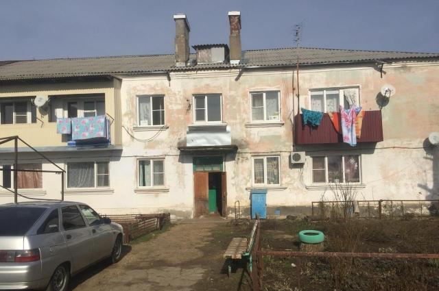 Дом, в котором закупили квартиры для детей-сирот.