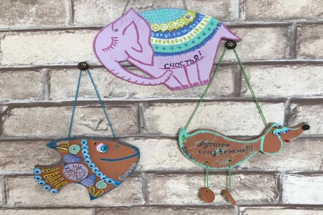Подвесные сувениры семьи Гевара