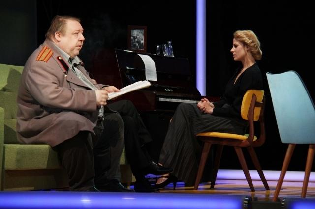 Александр Семчев в спектакле «Три сестры».