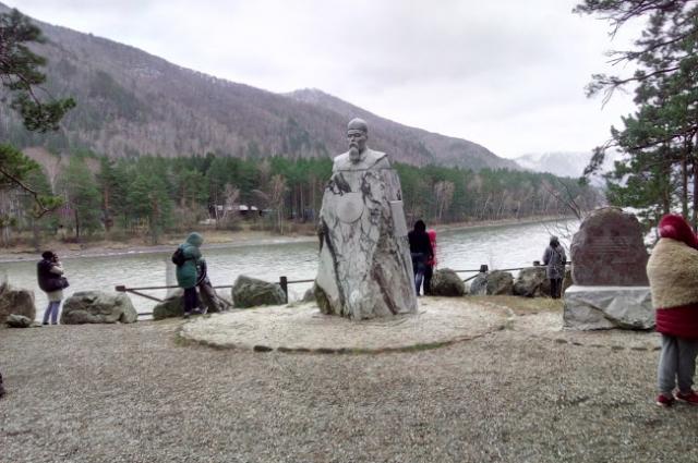 Памятник Рериху