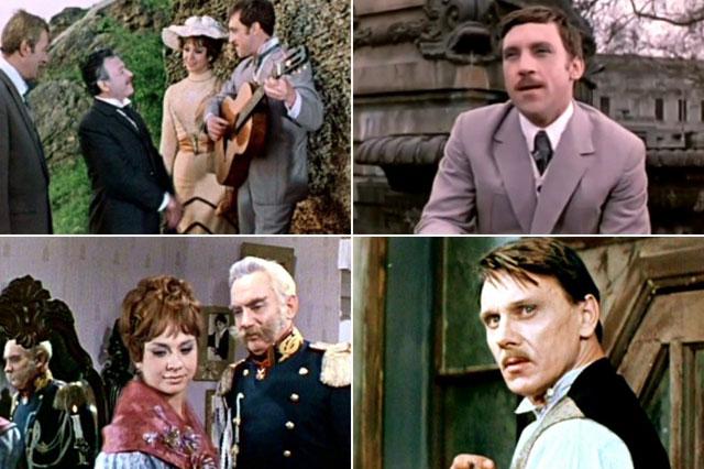 Кадр из фильма «Опасные гастроли», 1969 г.