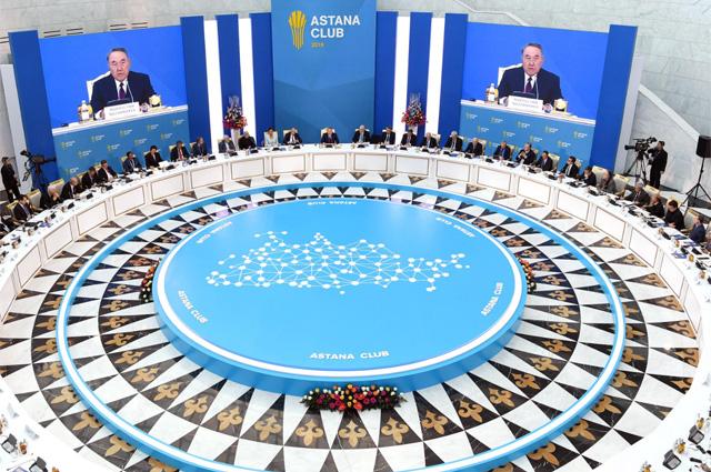 Нурсултан Назарбаев выступил инициатором создания Совещания повзаимодействию имерам доверия вАзии (СВМДА).