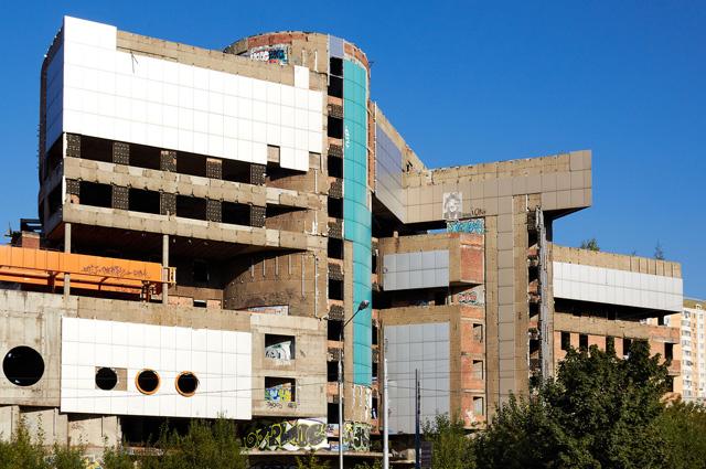 Здание спортивно-оздоровительного комплекса Аквадром