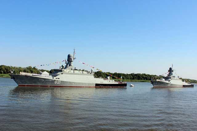 Всего для ВМФ России завод построит 9 МРК