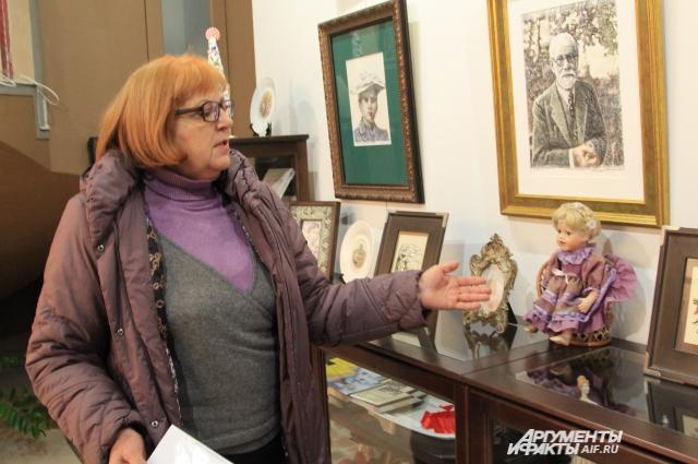 По словам хранительницы музея, ростовчане сами стали приносить экспонаты, посвященные тому времени, когда жила Сабина.