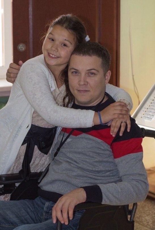 Павел Никитин с дочерью