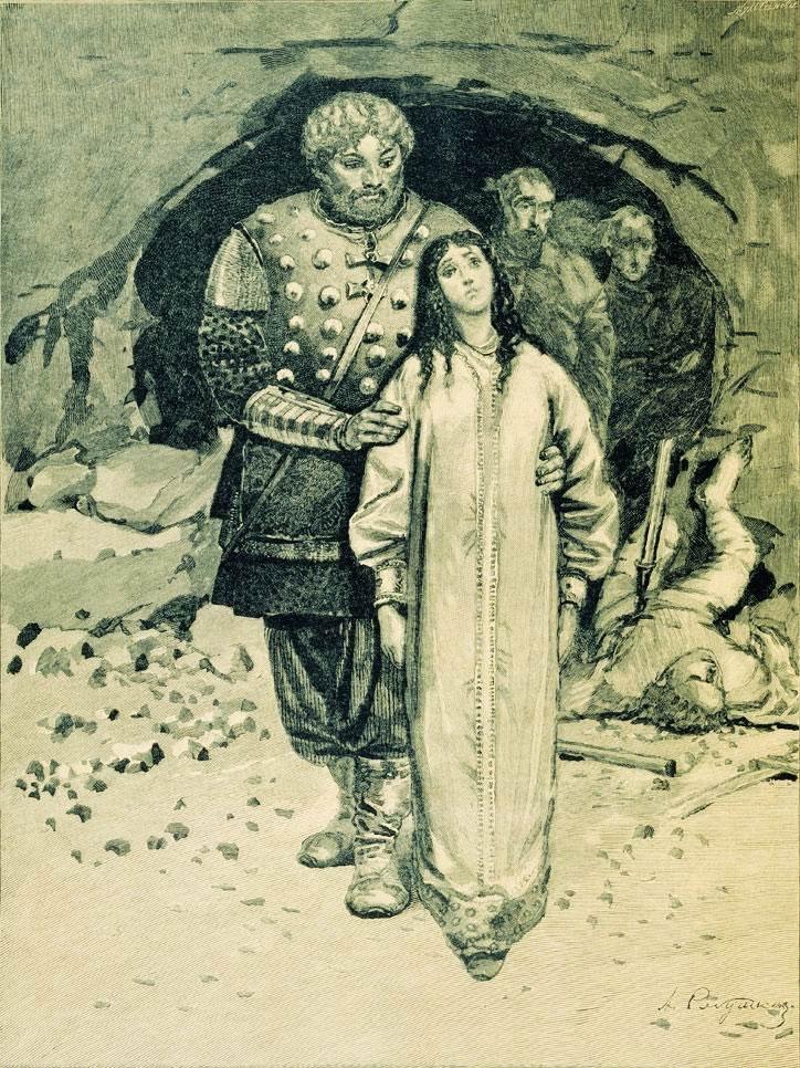 Русские былины сохранила и передала потомкам Ирина Андреевна Федосова