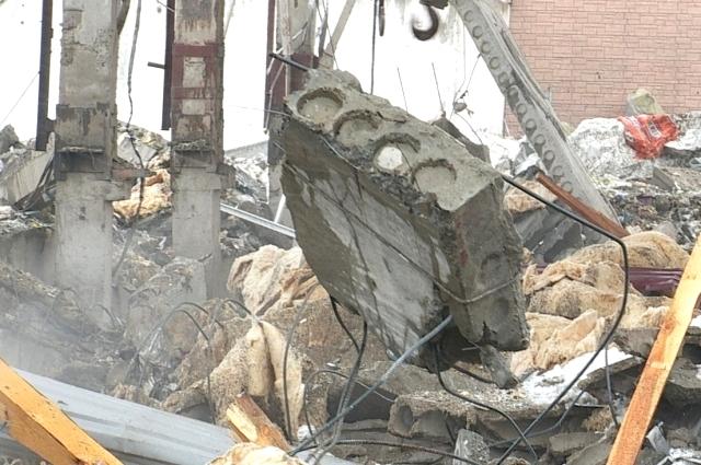 Взрыв газа в Бийске