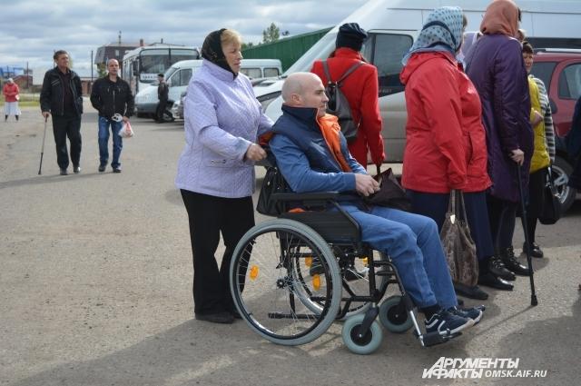 Нечасто удаётся людям с ограниченными возможностями здоровья выбраться из дома.