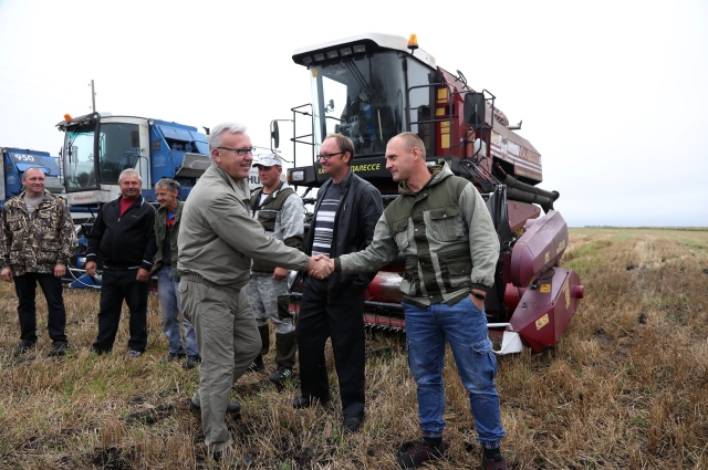 Александр Усс побывал с рабочим визитом в Шушенском и Идринском районах.