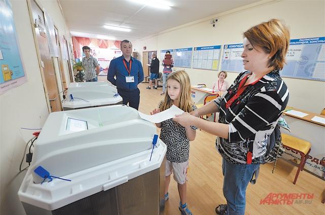 За весь день выборов в Москве не было зафиксировано ни одного значительного нарушения.