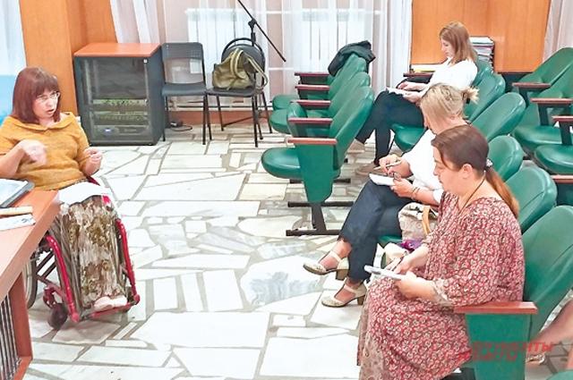 Светлана Носачёва рассказала о правах инвалидов-колясочников.