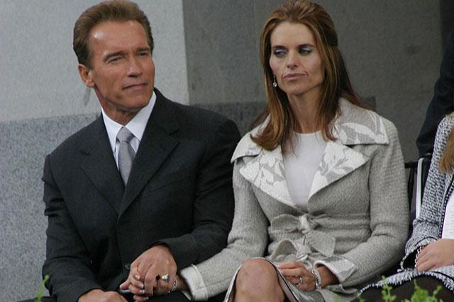 Мария Шрайвер и Арнольд Шварценеггер, 2003 г.