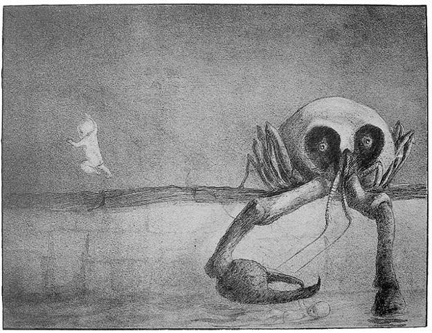 Альфред Кубин. Иллюстрация