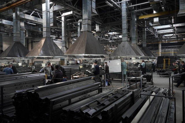 Рост инвестиций. В Тольятти запущен завод металлических дверей