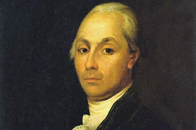 Портрет Александра Радищева. Не позднее 1790-го годаАлександр Радищев