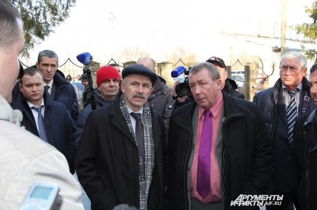 Джим Шеридан посетил лагерь беженцев в Неклиновском районе