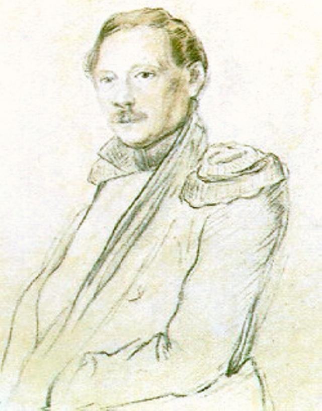Портрет Константина Данзаса.