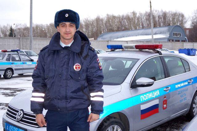 Сотрудник ДПС Мансур Цуроев.