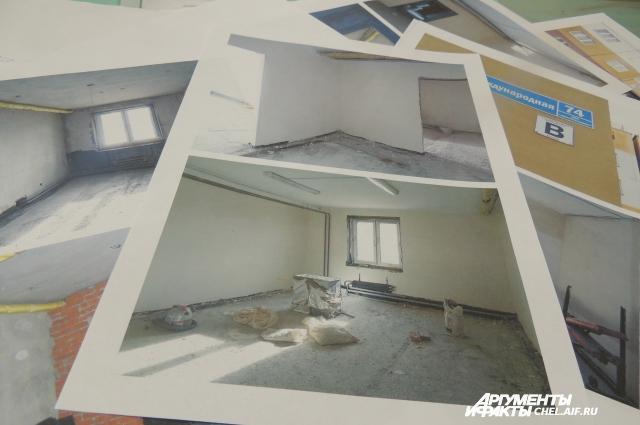 Владимир показывает фотографии: работы в подвале непочатый край.