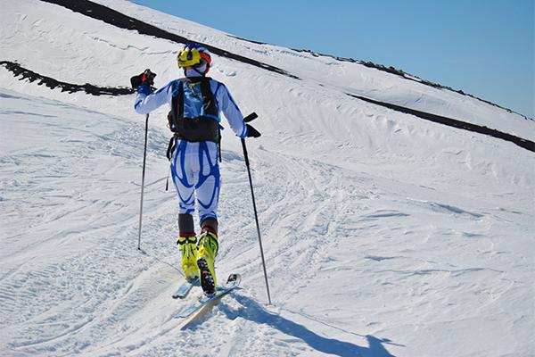 Соревнования по ски-альпинизму.