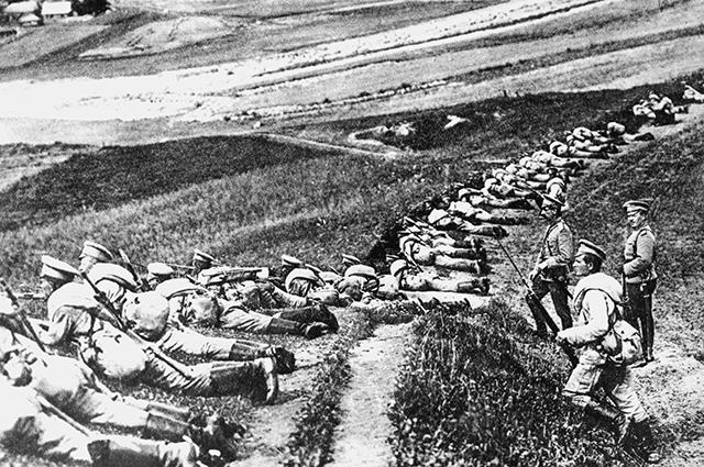 Первая мировая война. Брусиловский прорыв.