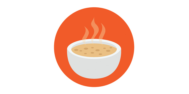 Суп - замечательное блюдо для холодной погоды.