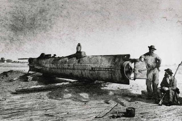 Подводная лодка H. L. Hunley