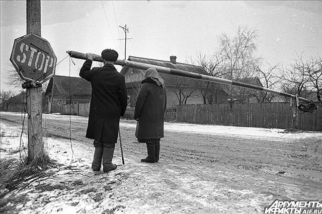 Чернобыльская зона. 1988 г.