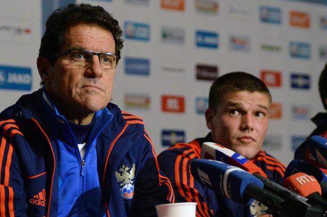 Ещё в начале отборочного турнира к чемпионату мира капитаном сборной был Игорь Денисов