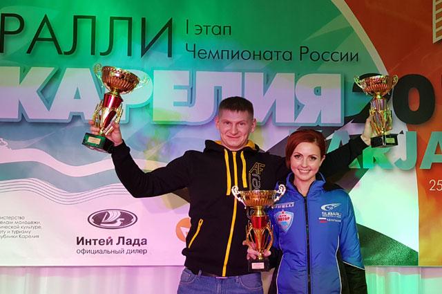 Награждение победителей первого этапа ЧР.