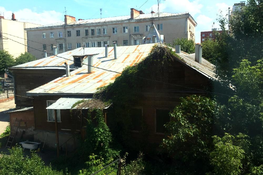 Дом Загоскина с тыльной стороны