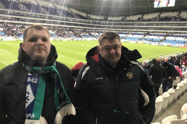 Алексей Булавин с другом.