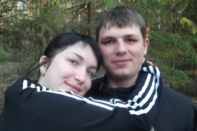 Здесь Юля и Владимир еще не знают, что у них будет ребенок.