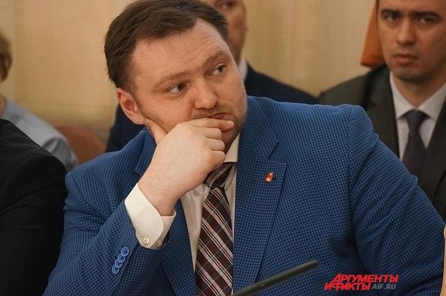 Александр Борисов стал новым министром территориального развития Пермского края.