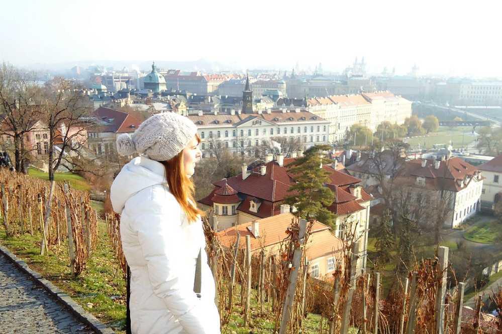 Прага, вид на Старый город.