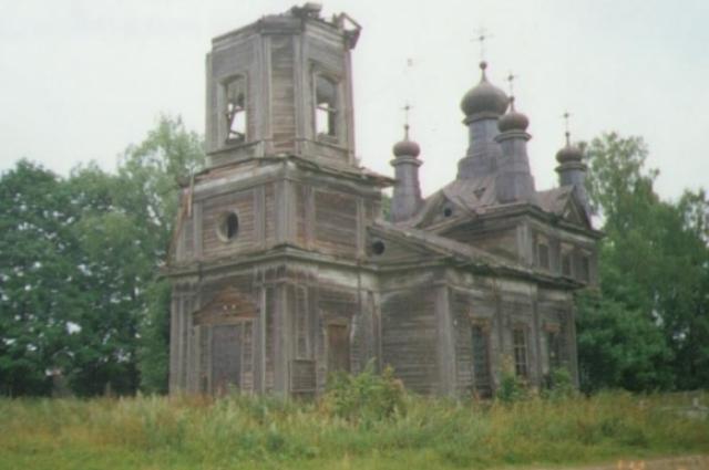 Церковь Николая Чудотворца (2005 год).