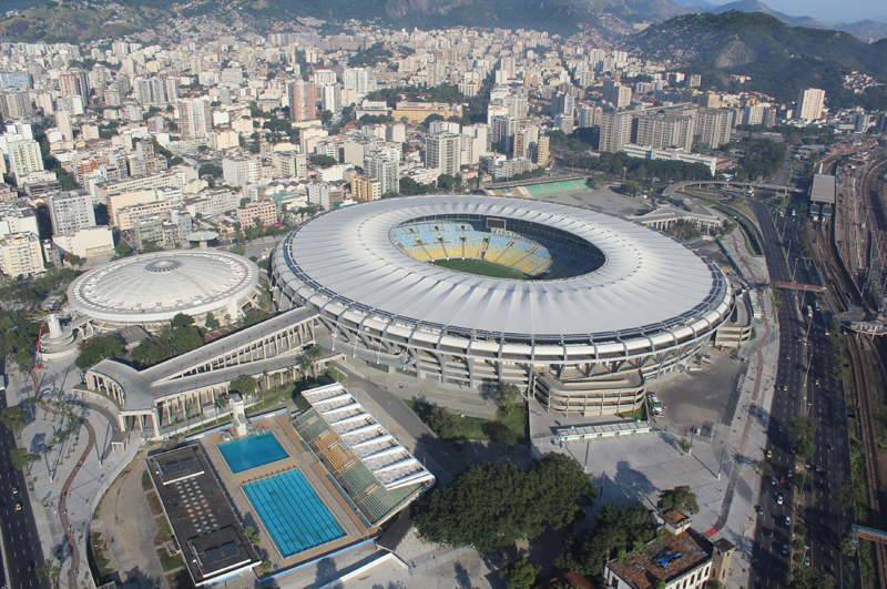 Единственным готовым стадионом пока так и остаётся Маракана