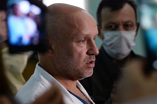 Заместитель главного врача омской больницы скорой медицинской помощи №1 Анатолий Калиниченко.