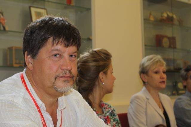 Владимир Орлов на Ганзейских днях в Люнебурге в 2012 году.