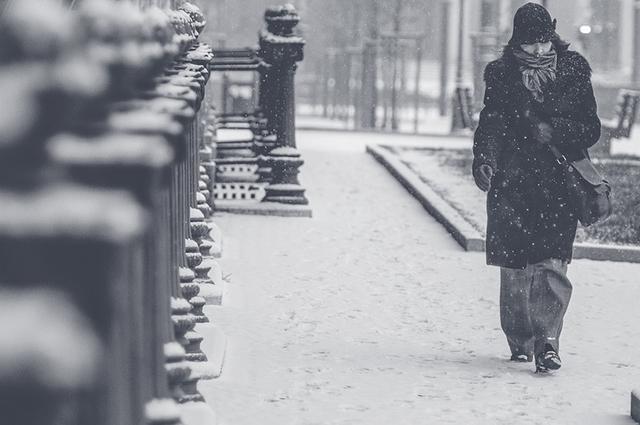Зима в Новосибирске выдалась холодной и снежной