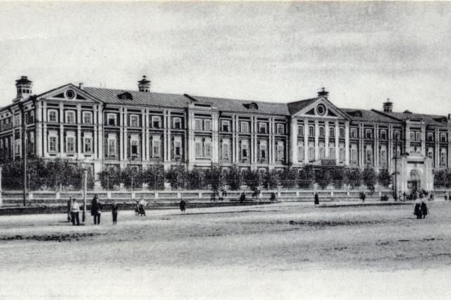 Вдовий дом Н. А. Бугрова.