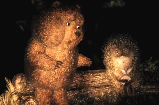 Кадр из мультфильма «Ёжик в тумане».